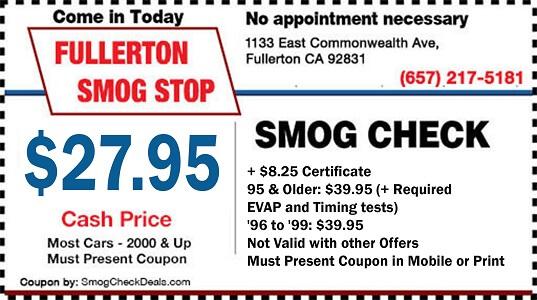 Smog Check Prices Near Me >> 27 95 Star Smog Check Fullerton Smog
